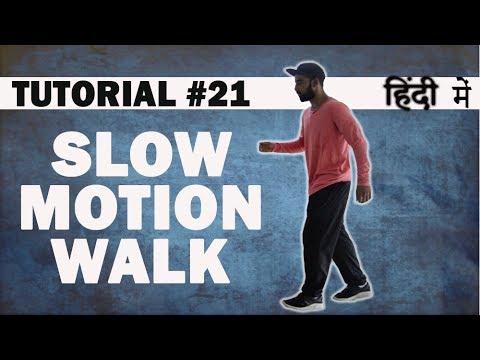 How to do SLOW MOTION WALK |Hip Hop Dance Tutorial in Hindi |Shivam Yadav |Dance Mantra Tutorials 21