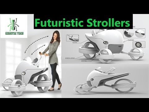 baby-strollers--top-6-most-futuristic-baby-strollers-that-follows-you-|-you-won't-believe-|-future