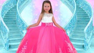 Alice y papá hacen un nuevo Vestidos para fiesta de princesas