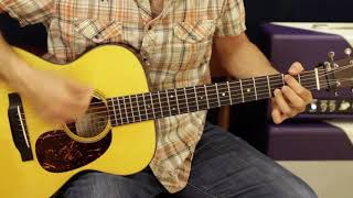 How to play, Carrie Underwood Acoustic Country guitar lesson Blown Away