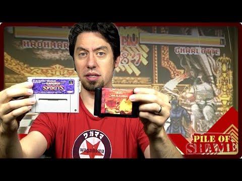 The Samurai Spirits Shodown - Super Famicom vs. Sega Genesis // Pile of Shame