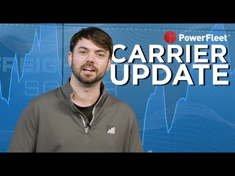 CARRIER UPDATE: Freight volumes are looking good this time of year