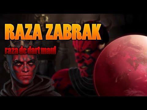 Los Zabrak- razas de star wars