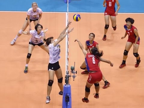 Thailand vs Taiwan | 06 Sep 2016 | 2nd Round | 2016 Asian Women's Club Volleyball Championship