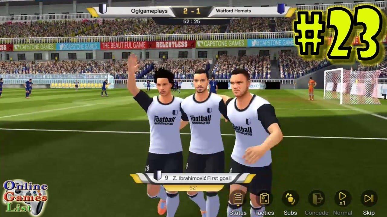 Soccer/Football revolution 2018 Android Gameplay #23