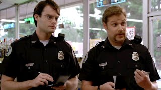 Superbad (3/10) Best Movie Quote - Bill Hader and Seth Rogen Investigate (2007)
