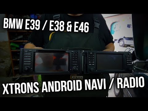 BMW E39 - xTrons Android Navi / Radio / Bordcomputer / Head Unit