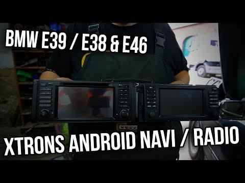 BMW E39 - XTrons Android Navi / Radio / Bordcomputer / Head Unit