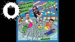 Steve Aoki, Chris Lake & Tujamo - Boneless (Keys N Krates Remix) (Cover Art)