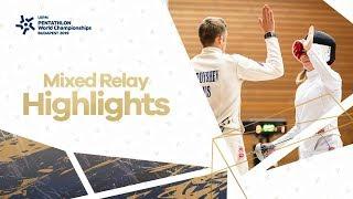 Highlights | UIPM 2019 Pentathlon World Championships Final Budapest HUN – Mixed Relay Final
