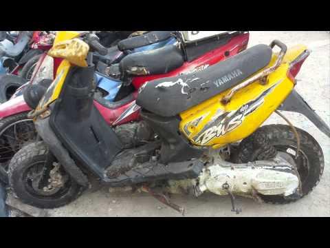 2nd start yamaha bws zuma full polini evolution 70cc ac for Yamaha bws 100 for sale