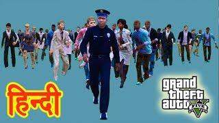 GTA 5 - Zombie Survivor Rescue Franklin Police Wala #5