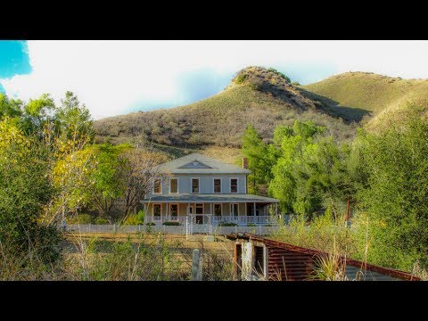 A Walk Around the Ghost Town of Mentryville, Los Angeles County