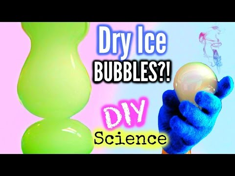 DIY Dry Ice Bubbles, Santa Toothepaste & More! Science Experiments To Try This Winter!