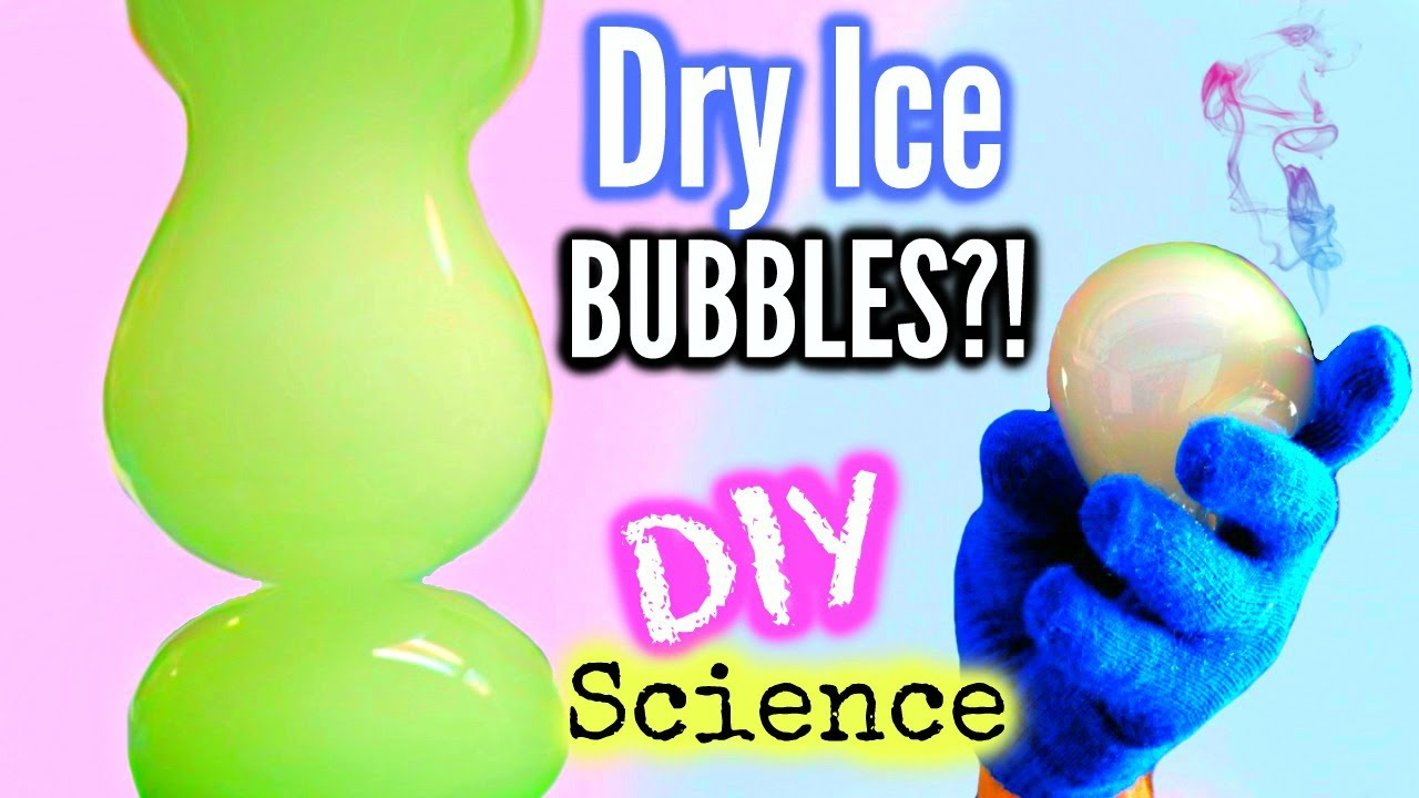 Diy Dry Ice Bubbles, Santa Toothepaste & More! Science Experiments To Try  This Winter!  Youtube