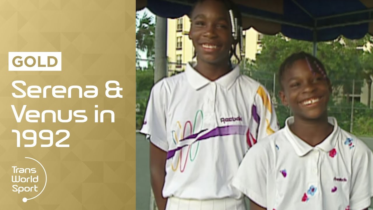 11 and 12-year-old Venus & Serena Williams on Trans World Sport
