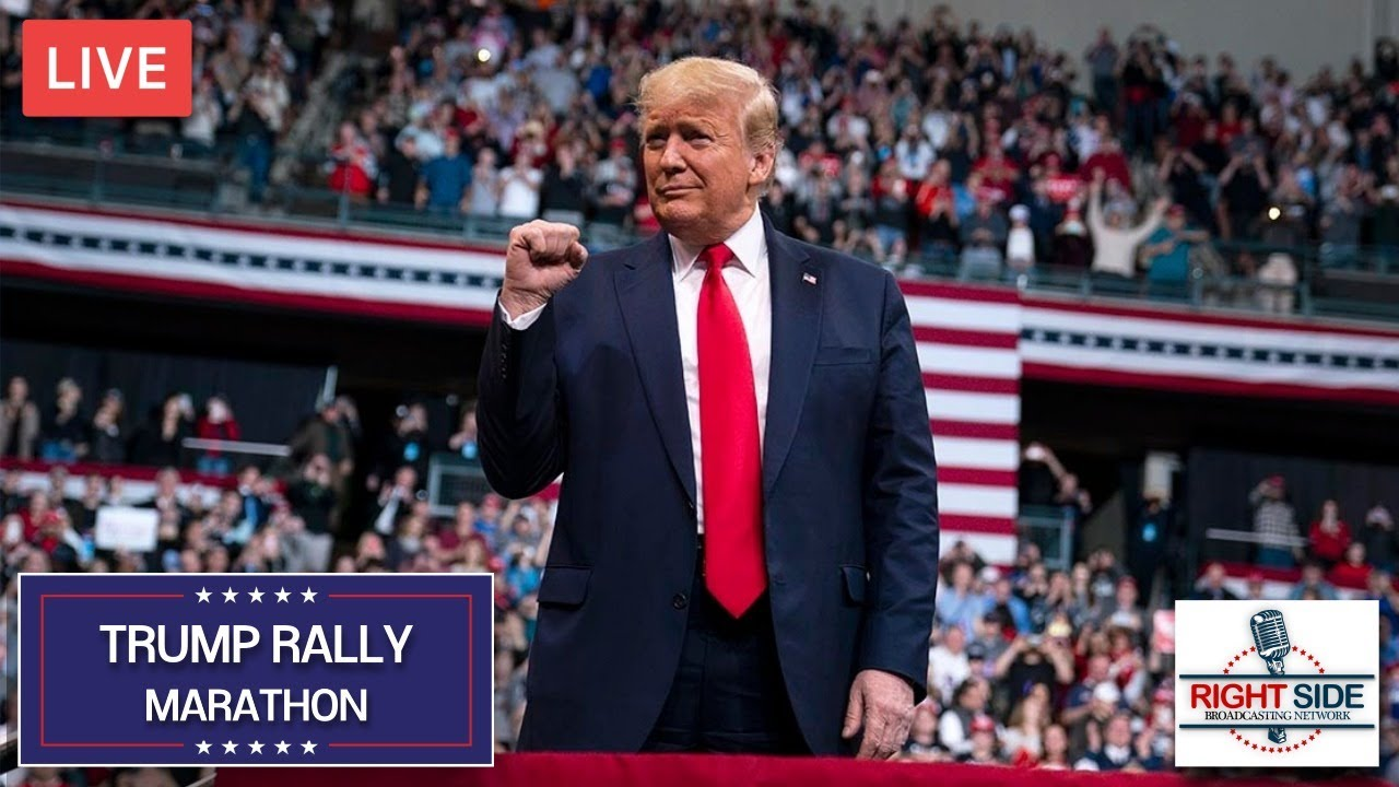 RSBN 24 Hour Trump Rally Marathon ('Til the Rallies Come Back)