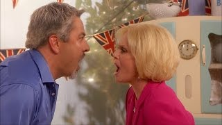Paul Hollywood and Mary Berry get hot in the kitchen - Walliams and Friend - BBC One