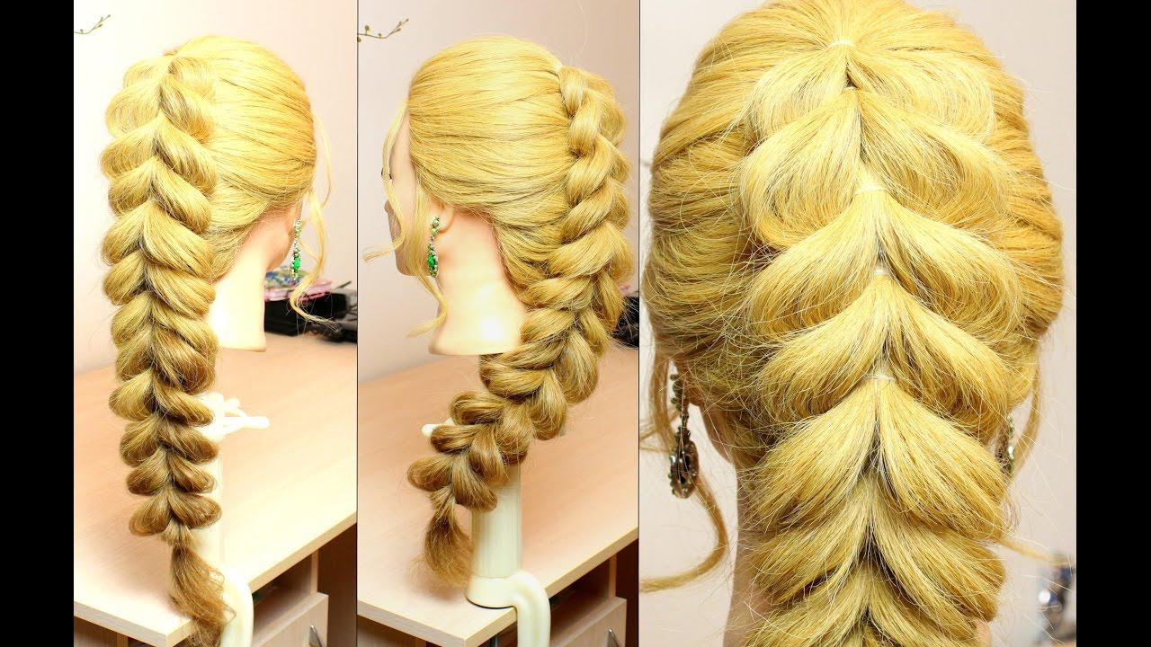 Easy everyday braid. Hairstyles for long hair tutorial ...