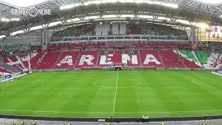 Рубин    ЦСКА  как заполнялась  Казань Арена