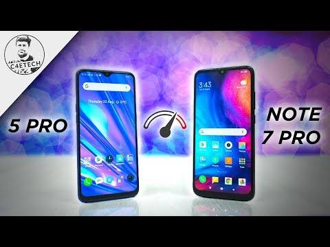 Realme 5 Pro vs Redmi Note 7 Pro Speedtest Comparison