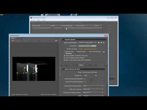 Convertir videos con Adobe Media Encoder