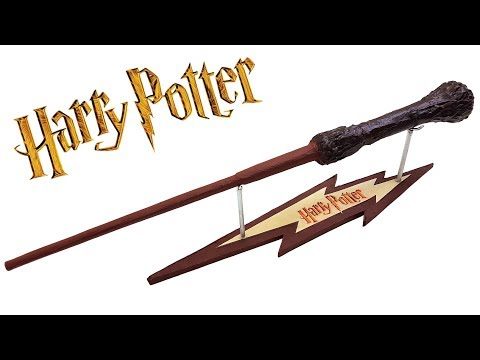 HARRY POTTER'S WAND - HOMEMADE TOY | Creative Minds