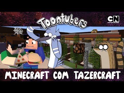 Sobrevivi... O ESCONDE-ESCONDE DO TAZERCRAFT!!!!! | ToonTubers | Cartoon network