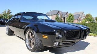 1974 Pontiac Firebird Restomod Classic Muscle Car for Sale in MI Vanguard Motor Sales