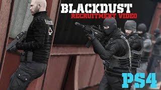 Blackdust Company Recruitment Video    GTA V Short Film    PS4 Mercenary Crew