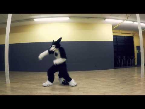 Groove With Rinn! Sugar Rush (Virtual Riot) Sergal Fursuit Dance
