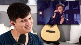 vocal coach reacts to shawn mendes live on snl