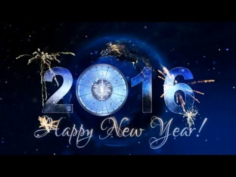 New Year 2016 Countdown After Effect & Music
