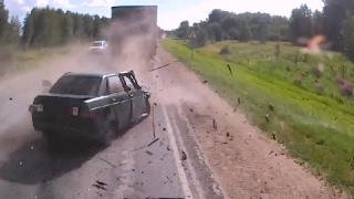 Свежая Подборка аварий и ДТП на Регистратор