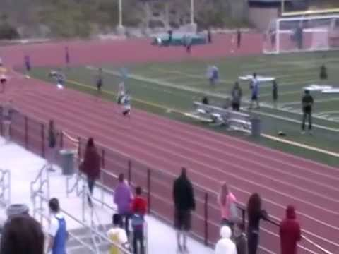 Earl Warren Middle School - 7th Grade Boys 4x100 Relay (April 25, 2014)