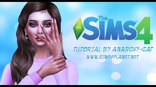 the Sims 4: Создание маникюра