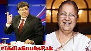 J&K Speaker Not Invited   India boycott CPA Meeting : The Newshour Debate (7th Aug 2015)