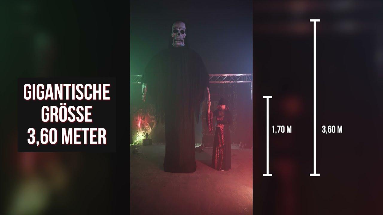 Gigantischen Reaper Halloween Deko über 3 Meter groß