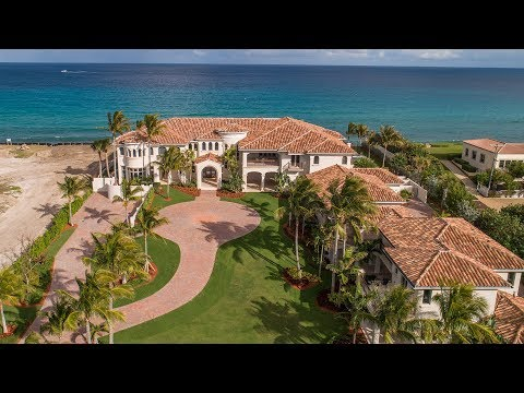 Oceanfront Mansion | Luxury Homes | 1040 South Ocean Boulevard Manalapan, Florida