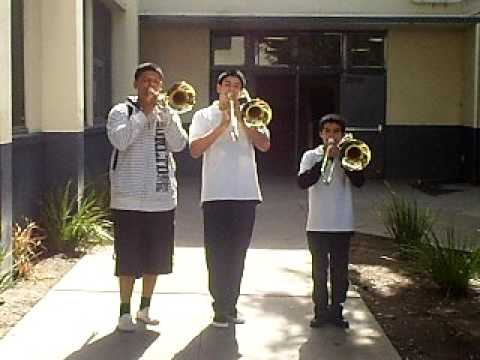 carver middle school couger band(Avacado solo) - YouTube