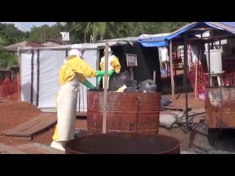 Ebola | Treatment center in Guinea