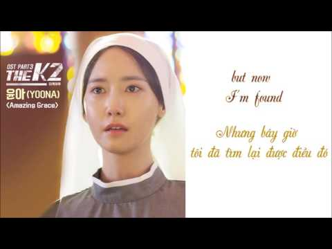 [Engsub/Vietsub] Yoona (SNSD)- Amazing Grace OST The K2 (Lyrics)