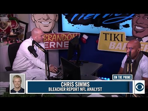 Chris Simms joins the Tiki and Tierney Show