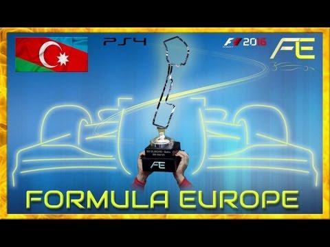 Formula Europe #FECL 2017 - 01 GP Azerbaijan Baku (F1 2016) 30.03.17 - Live Streaming 1080p HD