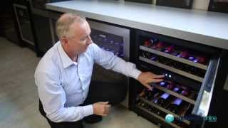 Expert Review Of The 50-bottle Vintec Wine Storage Cabinet V40sg2es3 - Appliances Online