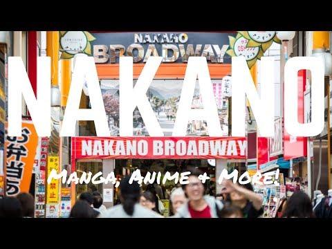 NAKANO BROADWAY, TOKYO - Manga, Anime & Namco Arcade - Things to Do in Tokyo 2017