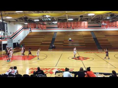 Sarah Moskow basketball 12/10 Elgin High Girls JV at St Charles East