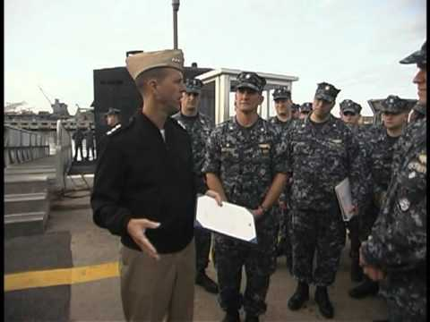 From the Depths Ep. 1 - USS Albany (SSN 753) Receives Navy Unit Commendation