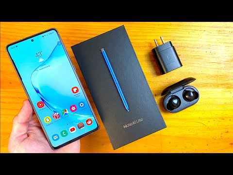 Samsung Galaxy Note 10 Lite Unboxing & First Impressions!
