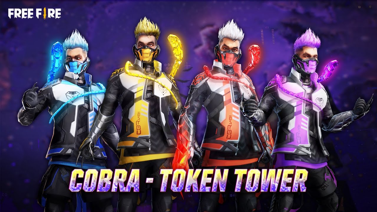 Legendary Cobra Rage Bundle Complete Set | Garena Free Fire